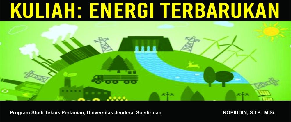 Kuliah Energi Terbarukan